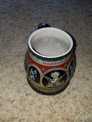 Budweiser Historical A & Eagle Series Collector Stein - 1900 Edition