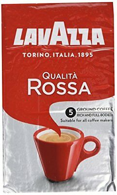Lavazza Qualita Rossa Roast and Ground Coffee 500 g  Pack of 2