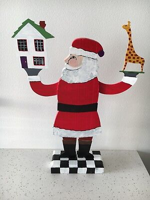 Nancy Thomas Santa Christmas Folk Art 2003