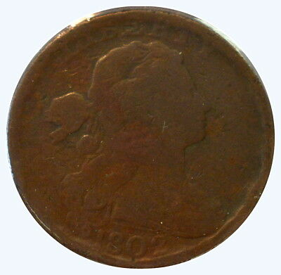 1802 1C Draped Bust Cent