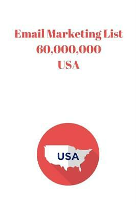 Email Marketing List 60,000,000 USA
