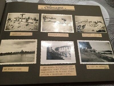Lot De 6 Photos Allemagne  Ww2 Seconde Guerre Mondiale Fin 1944 1945