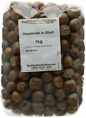 Buy Whole Foods Hazelnuts in Shell 1 Kg