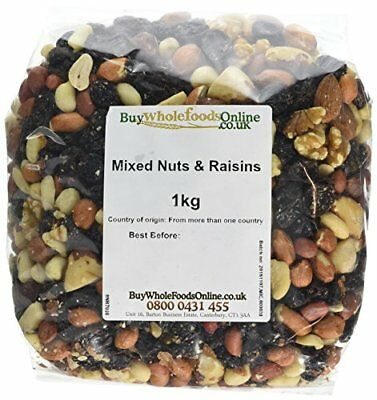 Buy Whole Foods Mixed Nuts and Raisins 1 Kg