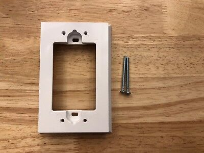Leviton 6197-W Shallow Wall Spacer Extender for Decora/GFCI Device White