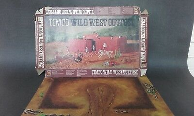 Vintage Wild West Timpo box and play mat