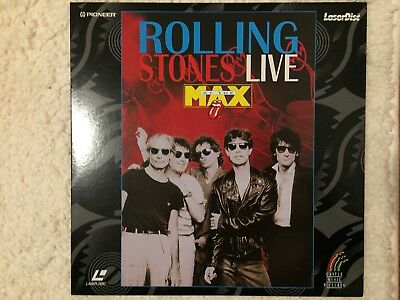 laser disc rolling stones live at the max