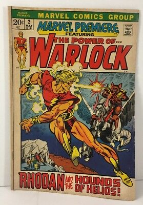 Marvel Comics Marvel Premiere #2 (May 1972, Marvel) - The Power Of Adam Warlock
