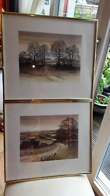 Two Kathleen Caddick Prints Limited Edition Signed