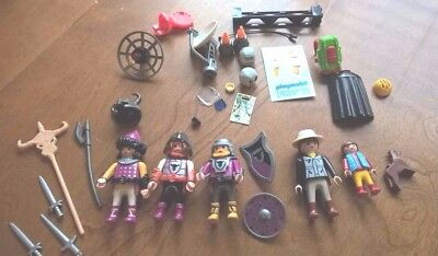 *Playmobil* LOT of Misc.~  FIGURES~ Weapons etc.~ KNIGHTS ~36 Pieces & Parts