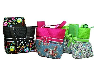 """""""Ori-Ori"""" Quilted Floral Diaper Tote Bag/Mommy Bag/Shop Bag---BEST GIFT for Her"""