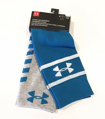 NEW UNDER ARMOUR Women's Sport Leg Warmers 2-Pack Pilates Dance Yoga