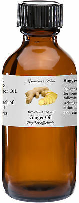 Ginger Essential Oil - 2 oz - 100% Pure and Natural - Free Shipping - US Seller