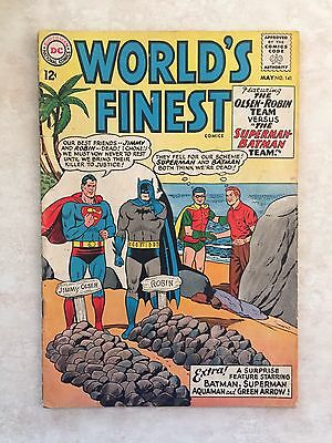 World's Finest Comics #141 (1964) 7.0 FN Jimmy And Robin Are Jerks Dc Comic