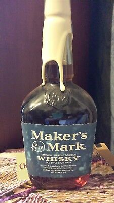 Makers Mark 1996 UK NCAA CHAMPS Collectors Bottle!! UNOPENED