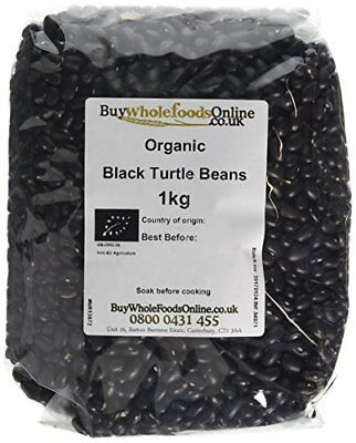 Buy Whole Foods Organic Black Turtle Beans 1 Kg