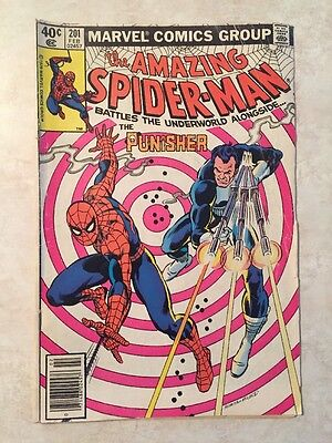 Amazing Spider-Man #201 (1980) 6.5 FN 2nd Punisher App Marvel Comic