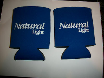 Two Natural Light Natty Light Can Koozies
