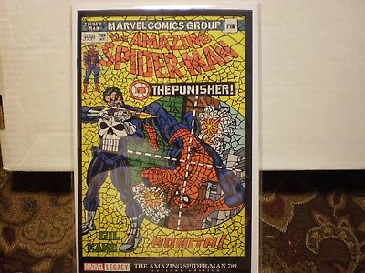 Amazing Spider-man 789 Shattered Variant ASM #129 Homage Unread condition