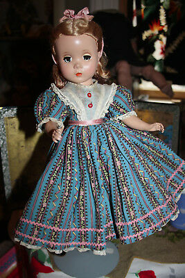 "Vintage 14"" Madame Alexander BETH Doll ca 50""s original tagged clothes wig shoes"