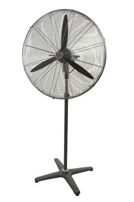 Industrial Pedestal Fan 750Mm 3 Speed 2 Yr Warranty
