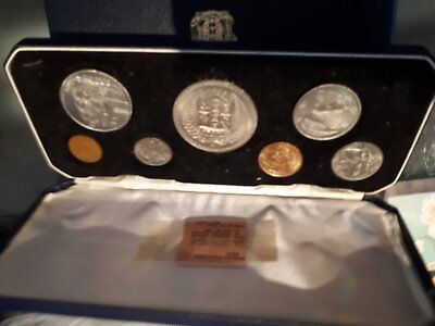 newzealand 1967 coins of the new decimal currency