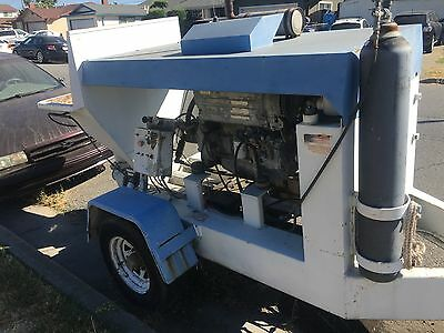 1986 olin 545 turbo concrete pump 2884 hours recent rebuild 48 hour sale