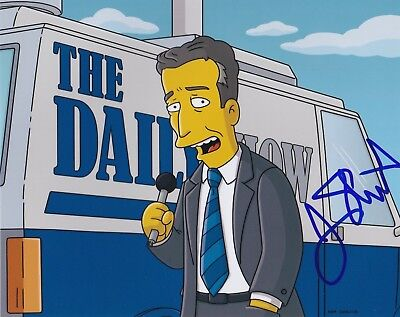 Jon Stewart Signed 8X10 Photo The Daily Show Simpsons Comedian Autograph Auto B