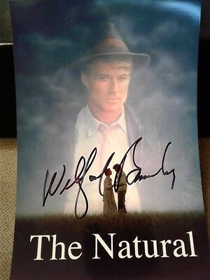 Wilford Brimley Authentic Hand Signed 4X6 Photo !! The Natural MOVIE STAR