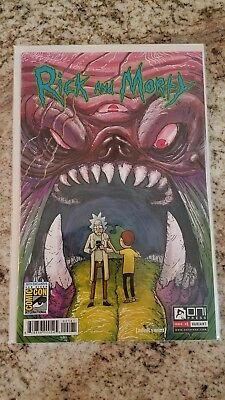 Rick and Morty #1 SDCC exclusive RARE