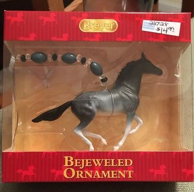 Breyer Horses 2016 Holiday Bejeweled Ornament Galloping Horse #700913