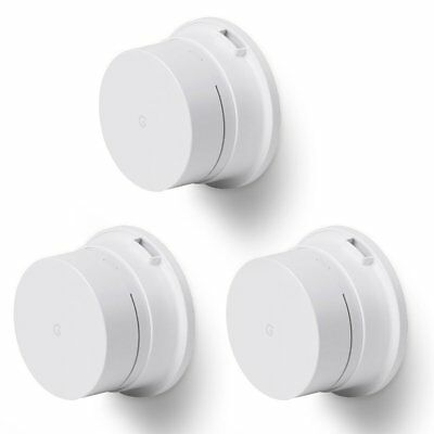 Holaca Wall Mount Holder Ceiling Mount Bracket For Google Wifi, ABS, (3-Pack)