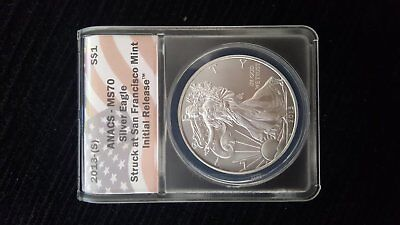 2013 MS70 Silver Eagle walking liberty 1 troy oz silver coin