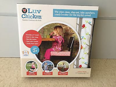Luv Chicken Booster Cushion - Forest Critters