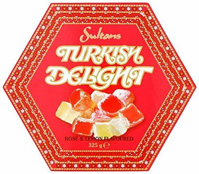 Sultans Rose and Lemon Turkish Delight  Pack of 3