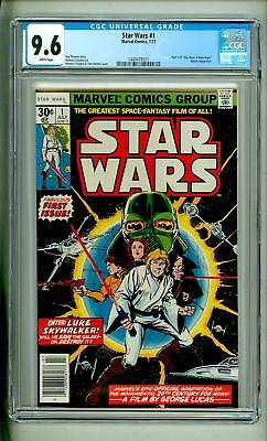 Star Wars #1 Cgc 9.6 White Pages First Printing 1977