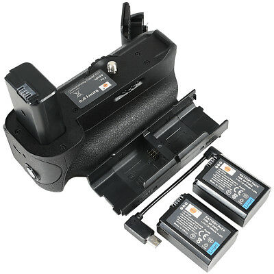 DSTE VG-6500 Vertical Battery Grip with 2 NP-FW50 Battery for Sony A6500 Camera