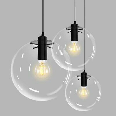 Modern Glass Ball Pendant Lamp Living Room Lamp Ceiling Lights Chandelier 9867U