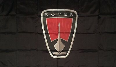 ROVER FLAG HUGE Classic car show, Man Cave, Garage, Shed