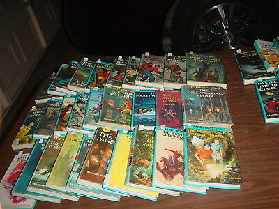 Almost all The Hardy Boys Books 1-50 plus extras