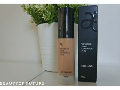 ARBONNE Perfecting Liquid Foundation SPF 15 - choose your color + FREE GIFT