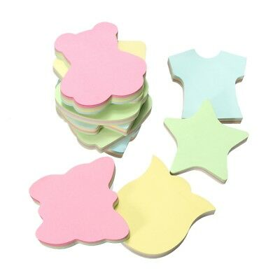 100 Pages Sticky Notes Paper Post It Memo Pads Sticker Flag Office Stationery
