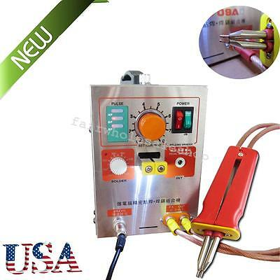 NEW 2in1 Handheld Pulse Spot Welder welding 709A Battery Soldering Machine 60A