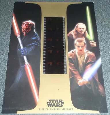 Star Wars : Episode I (one) : VHS Film Cel Card - NO Tape / Movie : 2000