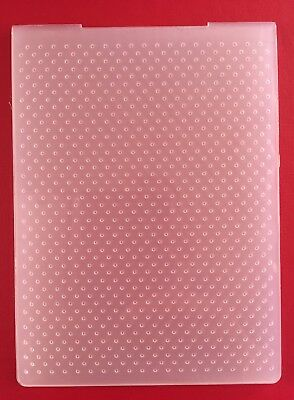NEW• DOTS EMBOSSING FOLDER Dots For Cuttlebug Or Sizzix