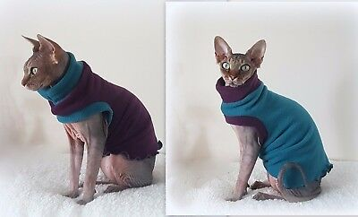 sizes COMFY winter Sphynx cat clothes sweater, jumper, Katzenbekleidung