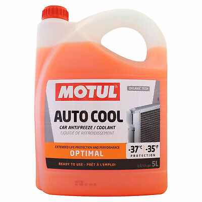 Motul Inugel Optimal Ready To Use Cooling Liquid & Anti Freeze 5 Litres 5L