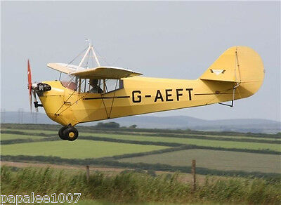 """Model Airplane Plans (RC): Aeronca C-3 1/8 Scale 54"""" for .09 Engine"""