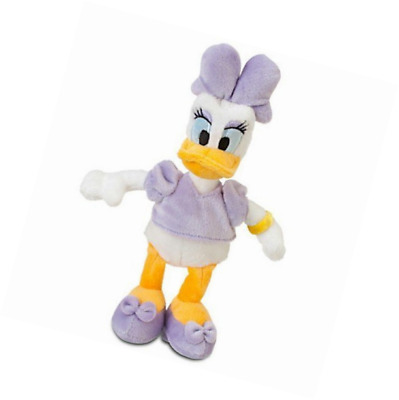NEW Disney Daisy Duck Plush - Mini Bean Bag 9''