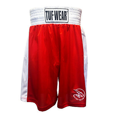 Tuf Wear Kids Boys Boxing Red Shorts £15.99 plus free shipping (UK Only)